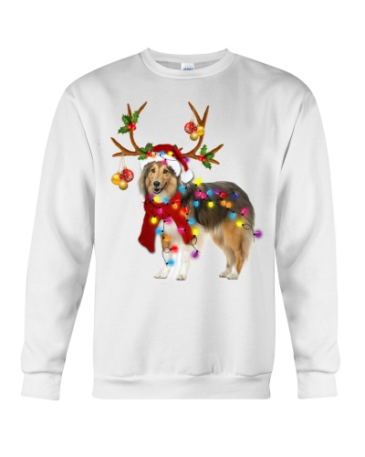 Sheltie gorgeous reindeer