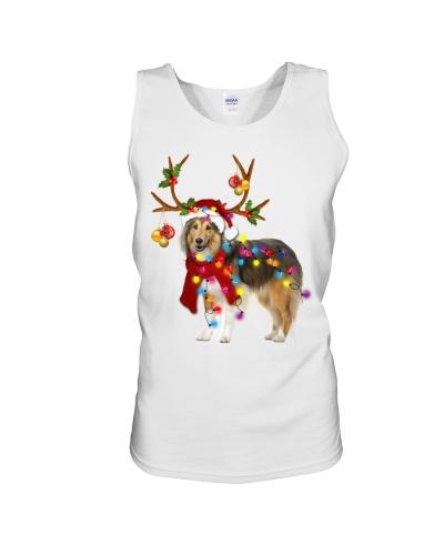 Sheltie gorgeous reindeer