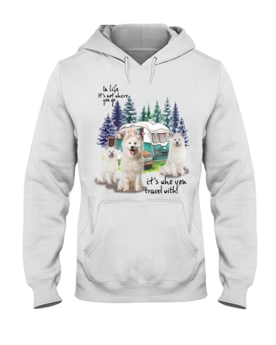 Samoyed it's who you travel with