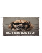 Th 5 Leonberger Best Dog Dad Ever Cloth face mask front