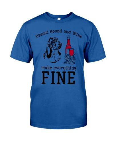 Basset hound wine is fine