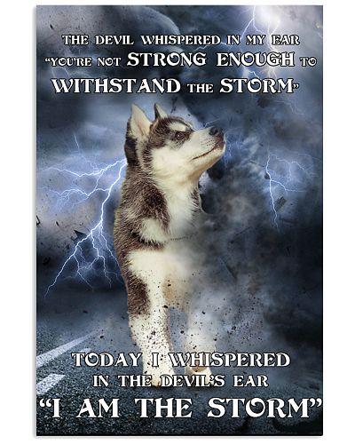 Alaskan Malamute I Am The Storm
