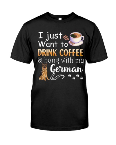 I Want German And Drink Coffee