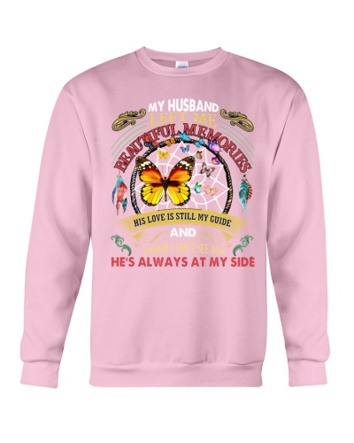 SHN 3 Left me beautiful memories Husband shirt