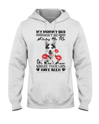 Siberian husky  dont be kissing on me