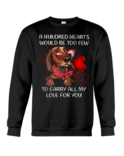 A hundred hearts would be too few Dachshund
