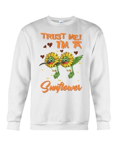 Hummingbird i am a sunflower