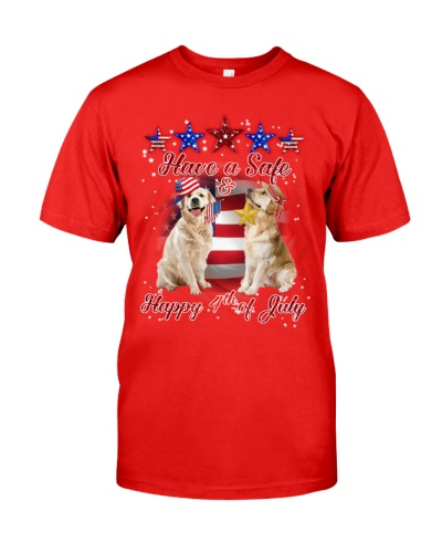 SHN Have safe and happy July 4th Golden Retriever