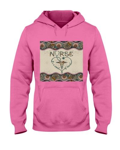 Nurse Boho Pattern