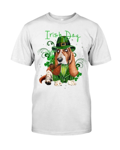 Basset hound irish day
