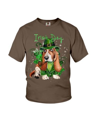 Basset hound irish day