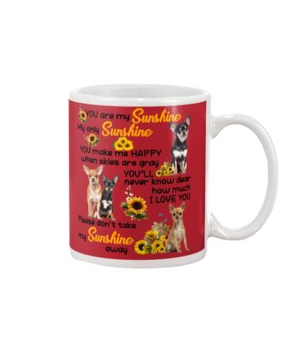 Not take my sunshine away luv U Chihuahua