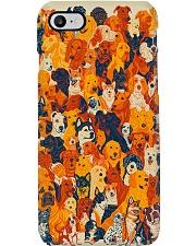 Various dog gift for dog lover Phone Case tile