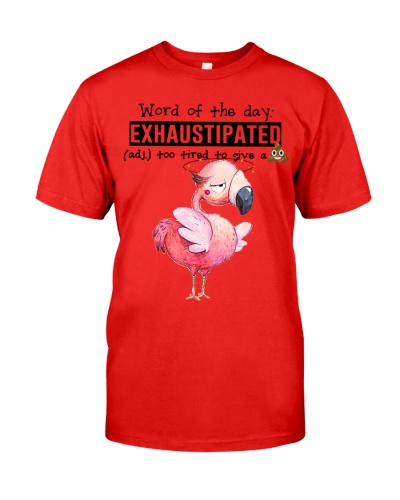 Flamingo exhaustipated