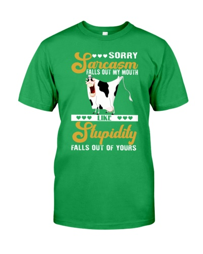 Cow Sorry Sarcasm