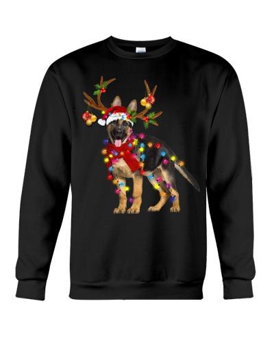 German shepherd gorgeous reindeer