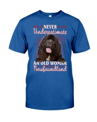 Newfoundland never underestimate old woman