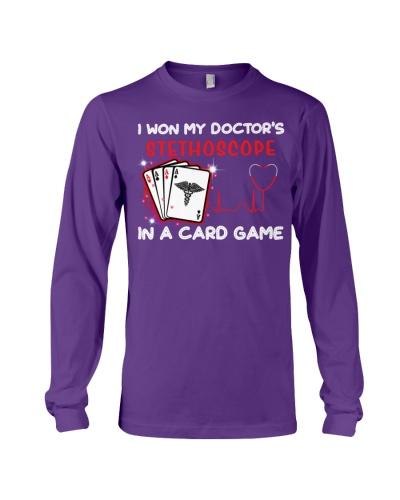 I won my doctor stethoscope shirt