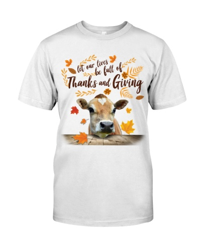 Cow Thanks And Giving