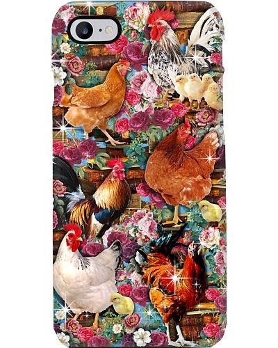 Chicken Love Book Phone Case