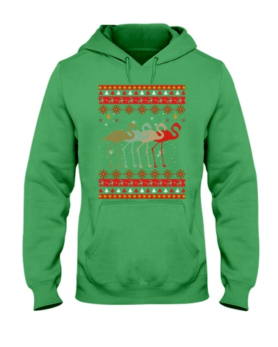 Ta Flamingo Vintage Christmas Ugly Sweater