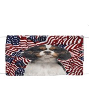 TH 32 Cavalier King Spaniel In USA Pattern Cloth face mask front