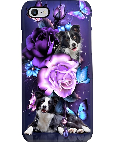 Border collie magical phone case