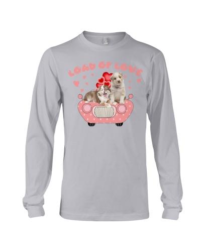 Load of love with australian shepherd shirt