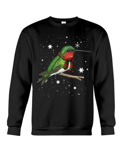 Hummingbird snow sky