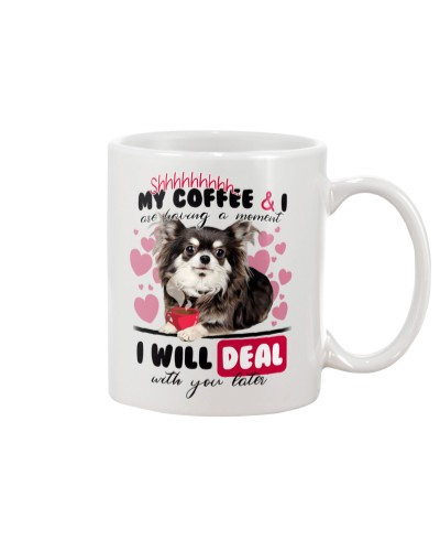 Chihuahua will deal with you later mug