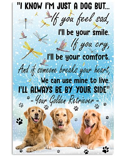 Golden Retriever will always be by your side
