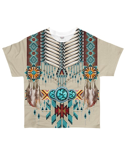 SHN 10 Native American pattern shirt