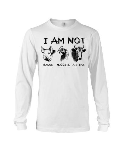 I Am Not Bacon Nuggets A Steak Farm Animal Shirt