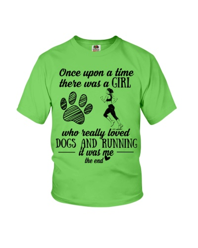 Running and dog the end