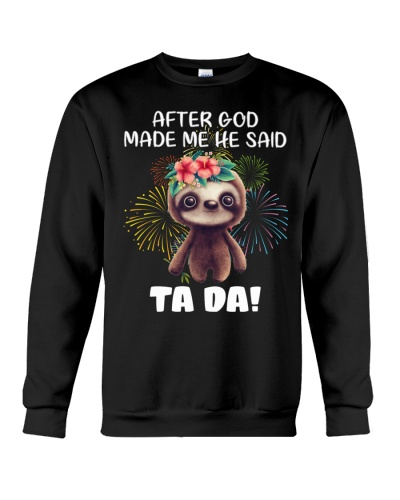 Sloth god made me tada