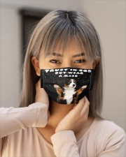 TT Bernes Mountain Trust In God Cloth face mask aos-face-mask-lifestyle-18