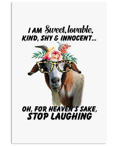 Goat stop laughing