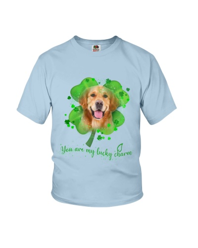 Golden Retriever You Are My Lucky Charm