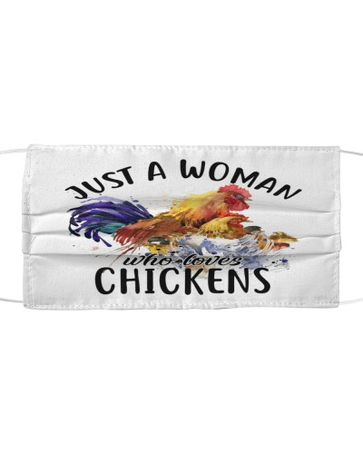 Th 7 Just a woman loves chickens