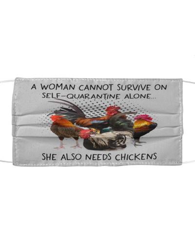 Th 3 Chickens A Woman Needs