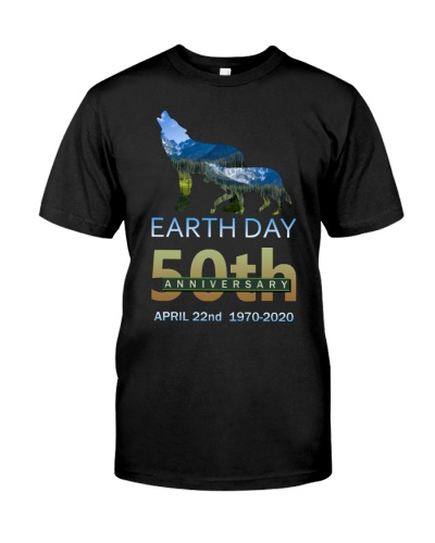 SHN Earth day 50th Anniversary Wolf
