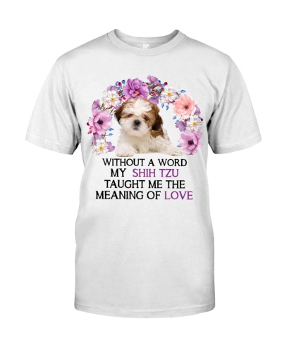Shih tzu without a word