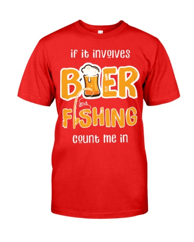 Beer and fishing count me in