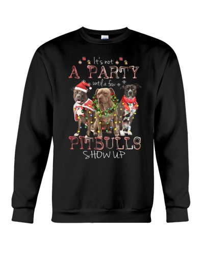 Pitbulls it is not a party