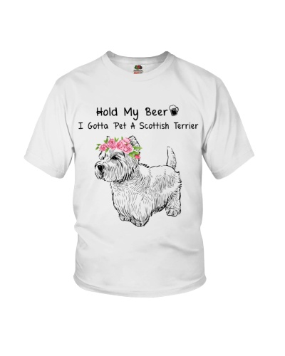 Scottish Terrier Hold My Beer