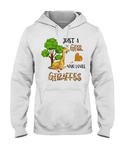 Just a girl who loves giraffes