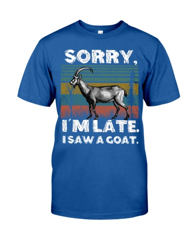 SHN Sorry I'm late I saw a Goat