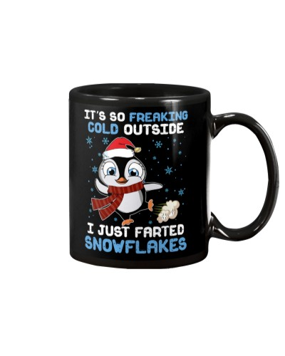 Penguin i just farted snowflakes