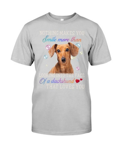 Dachshund loves you
