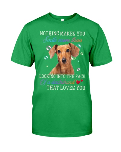 Dachshund loves you